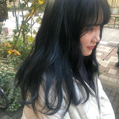透明感暗髪カラー&3stepトリートメント❤︎⦅黒染め使わず髪色戻し🔥⦆