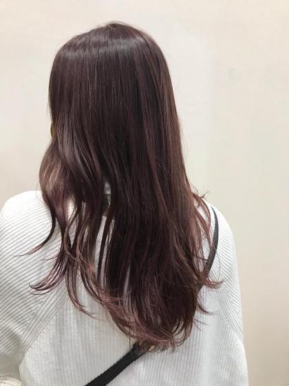 イルミナカラー カラーのみ!              施術後ご希望の場合髪を巻かせていただきます!💓