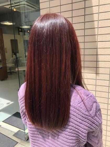 1番人気✨【艶カラー+髪のお悩み解決Aujuaトリートメント+ナノスチーム✨】