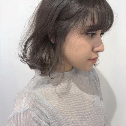 nishimuranarumiのショートのヘアスタイル