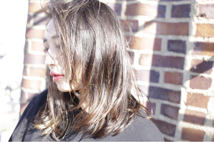 重軽セミロング。 風になびく軽さの雰囲気がオシャレなhair style. brisa所属・及川大輝のスタイル