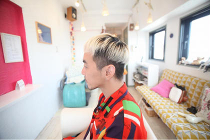 個性的なスタイル 田村竜一のメンズヘアスタイル・髪型