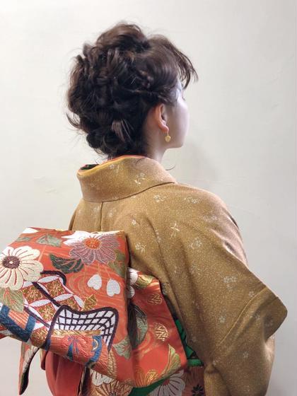hair set GOTODAY SHAiRE SALON所属・カメダハルカのスタイル