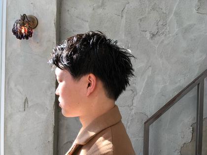 西川由樹のメンズヘアスタイル・髪型
