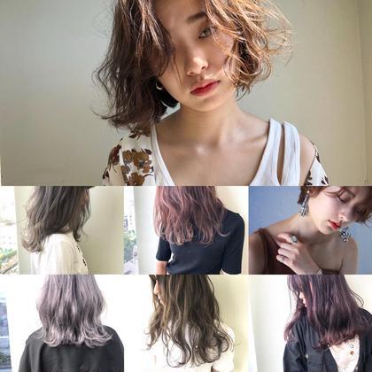 ✨【毎月使える・ロング料金無し】プレミアム艶カラー & 極艶シアトリートメント  *前髪カットをご希望の方はサービス🎉