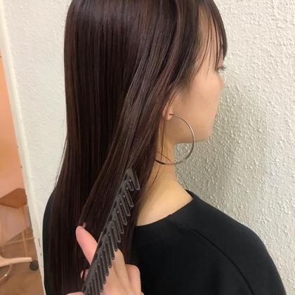 【初回】季節のオススメ☀️髪質改善トリートメントストレート 湿気や汗で崩れにくい髪 コスメストレート ストレートパーマ