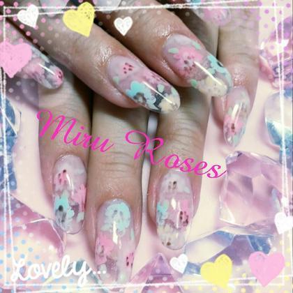 クリアフレンチ&フラワーアート ネイルルーム Miru Roses 所属・秋葉リエのフォト