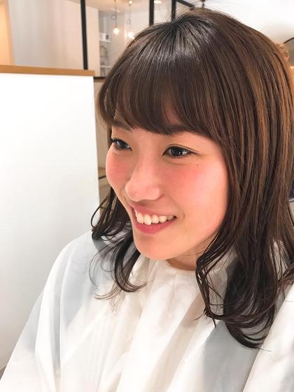 ミディアム ふんわり前髪♪
