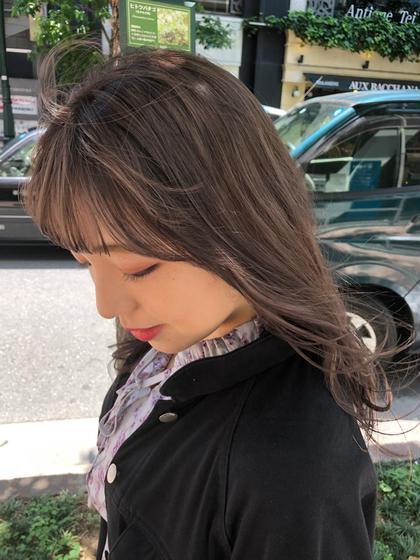 ✨毎朝簡単🌿✨コテ要らずの前髪へ❣️  前髪カット➕前髪パーマ➕トキオトリートメント