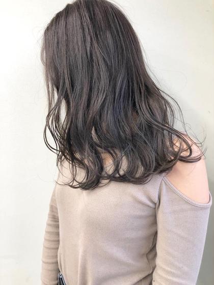 💖人気NO.2💖艶フルカラー+ハホニコトリートメント(3STEP)\5000