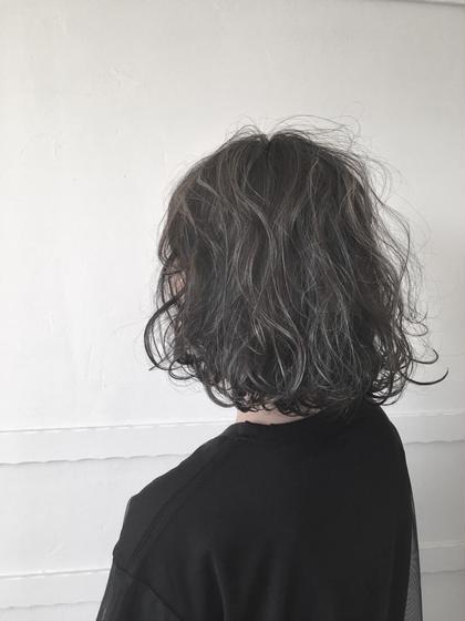 kuroyanagi.のショートのヘアスタイル