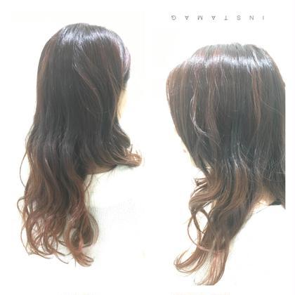 グラデーションカラー HAIR STUDIO JAP所属・給下麗のスタイル