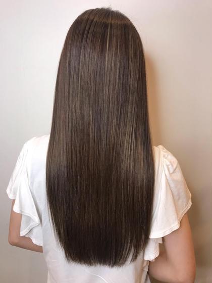 【憧れのサラ艶ヘアー】似合わせカット+髪質改善orストレートパーマorストレートトリートメント✨