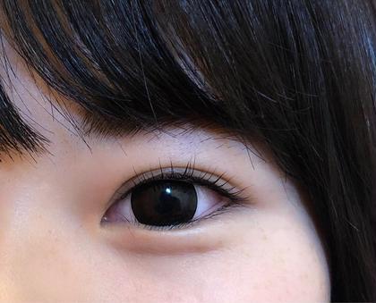 逆さ睫毛のお客様なのですが まつ毛パーマをかける事により改善☺️☺️  とっても喜んで頂きました♪ eyelash salon NOLZA所属・eyelashNOLZAのフォト