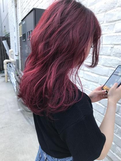 1日2名様限定❗️95%ダメージレス🌿ケアブリーチ+髪質改善トリートメント+カット#ピンク#ミルクティーベージュ