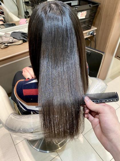 【オーダーメイドトリートメント】カット+美髪カラー+Aujuaトリートメント