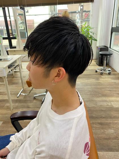 💈メンズカット+前髪ストレート💈ナチュラルな前髪のストレートはこちら💁♂️全体ストレートは+¥2200‼️