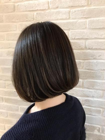 ❣️7月限定❣️前髪カット付き✨オーガニックカラー+最高級フローディアTr✨✨