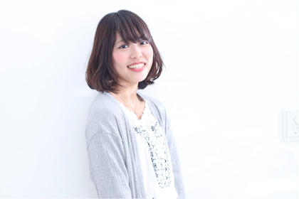 王道!!! 内巻きワンカール ヘアメイクスタジオアルター所属・田丸なつみのスタイル
