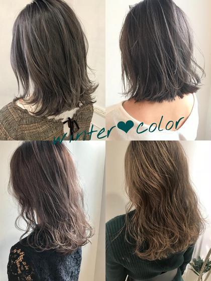 ✨中村オリジナル✨アディクシー&イルミナ&アドミオで赤み全消し透け感カラー✨前髪カット✨色持ちトリートメント✨