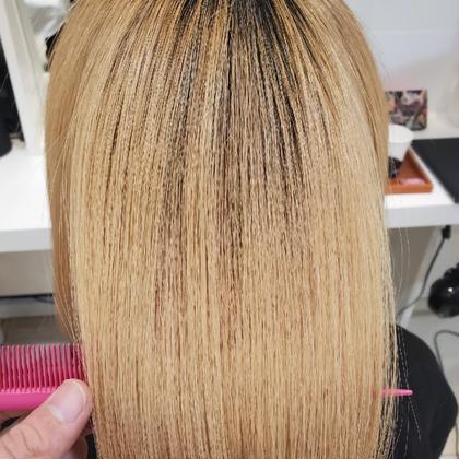 予約殺到✨これ本当にすごい❗️ブリーチ毛でもできる?❗️❓✨髪質改善プレミアム縮毛矯正 & トリートメント✨
