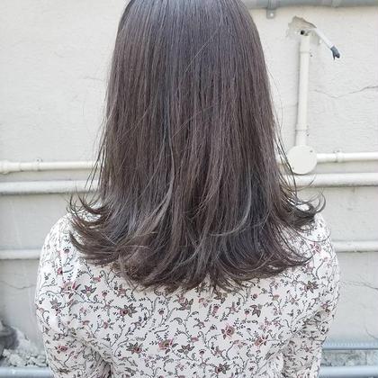 【人気メニュー】透け感カラー
