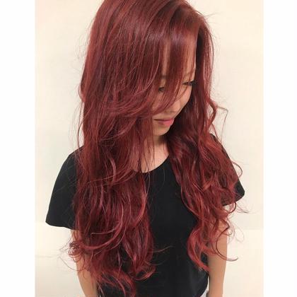 《 サラサラ綺麗な髪へ!!》✨トリプルカラー(ブリーチあり) + aujua4stepトリートメント✨#ハイトーン