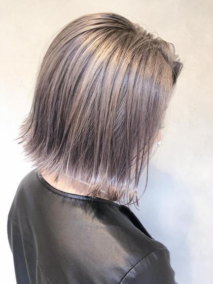 【💖ブリーチメニュー💖】ハイライト・バレイヤージュ・グラデーション➕イルミナカラー➕カット➕髪質改善TOKIO