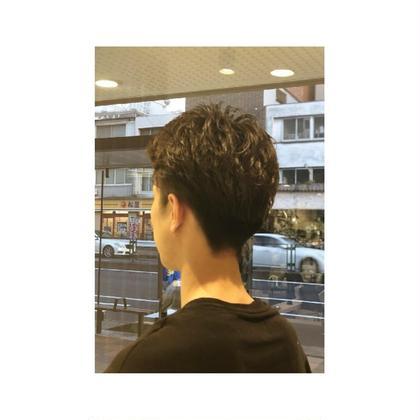 #リバースパーマ #2セクション アッシュ反町店所属・上東亮斗のスタイル