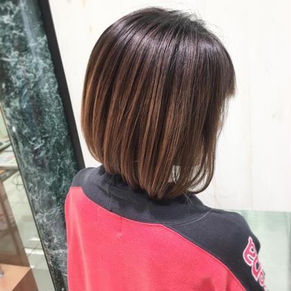❤️2回目以降の方へ❤️カット+極潤トリートメント❣️安心してお気に入りの髪型に(^ ^)✨