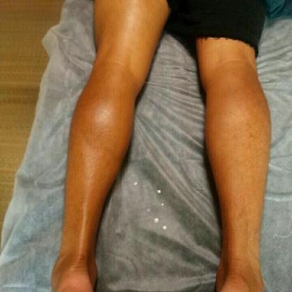 スポーツアロマで・足裏も脹ら脛も軽くなります Mimiange所属・岩田光代のフォト