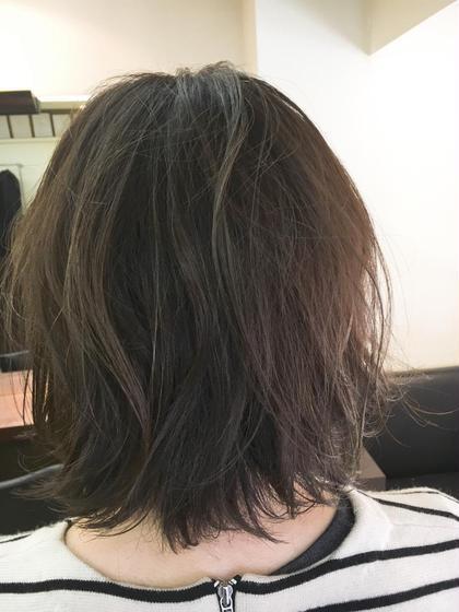 ✨スロウカラー&前髪カット※15分ヘッドスパ&髪質改善トリートメント付✨
