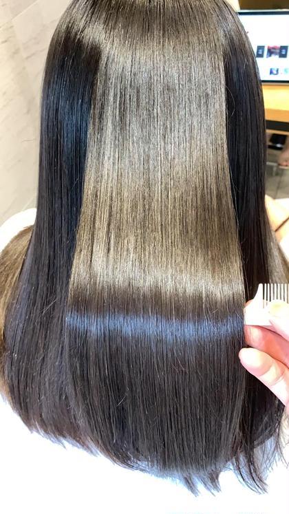 ✨予約殺到✨人生で1番綺麗な髪になる!マツコ会議話題の髪質改善をさらに改良進化❗️2種配合超酸熱トリートメント➕超ミスト