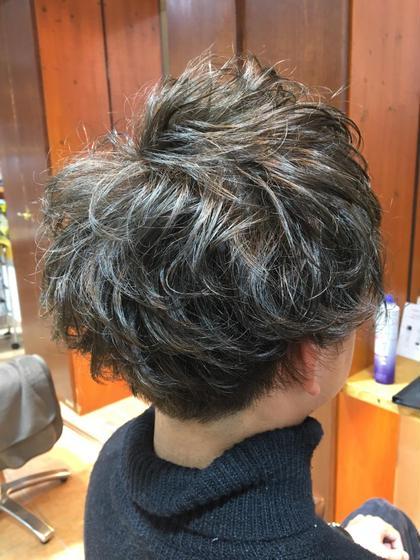 アッシュカラーで空気感のでるマッシュヘアです! デジャブ千葉店所属・前原秀也のスタイル
