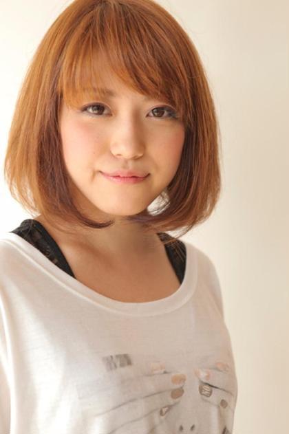 定番シンプルボブ hair salon M.plus所属・KADOIKEMICHIHIROのスタイル