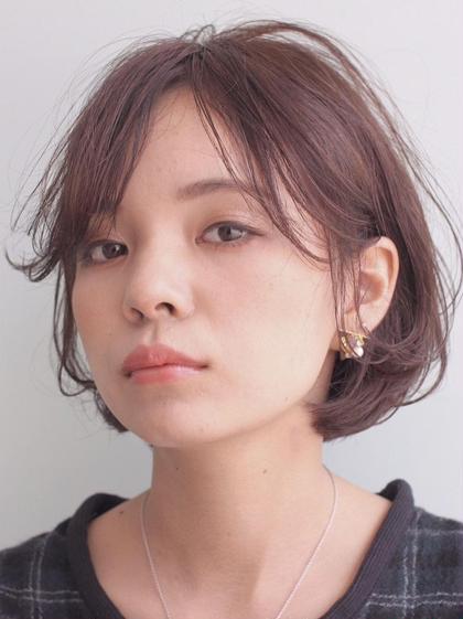 【プラチナTr付】外国人風リタッチカラー+カット\10800→\2900