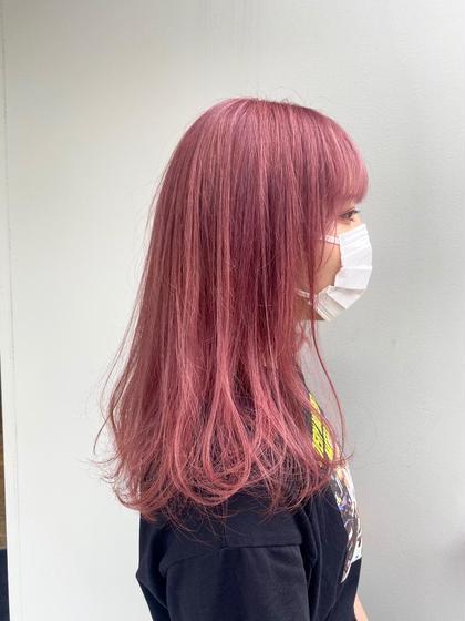 【8月限定クーポン】☆新規☆プレミアムダブルカラー(ブリーチあり)+SilkTR