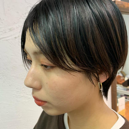 LUKE所属の箕輪麻衣のヘアカタログ