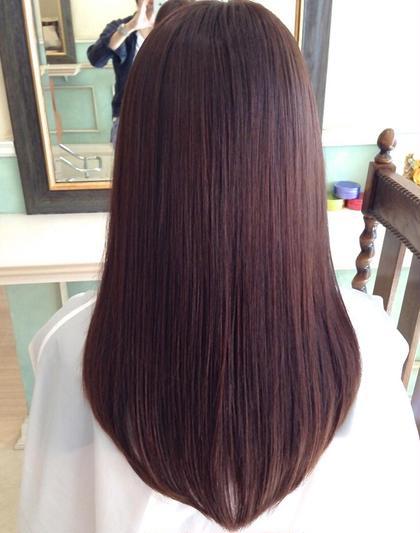 超音波トリートメントで素っぴん髪へ。 anxel-ha アンシェルハ所属・上村茉穂のスタイル