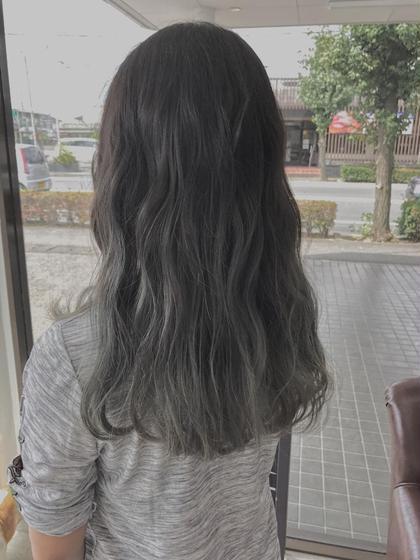グレー✖️グラデーション Grace所属・石川京亮のスタイル