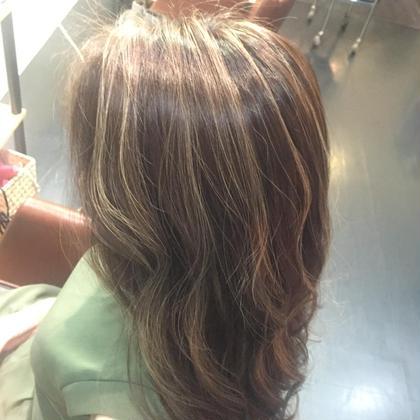 Special highlight ハーフ❤️ Hair kitchen所属・ishidatatsuhiroのスタイル