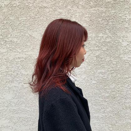 🍒韓国風チェリーレッド🍒