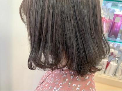 🌈前髪カット+似合わせカラー🌈