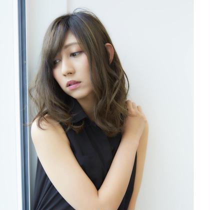 透明感☆髪が柔らかく見えるカラー&トリートメント