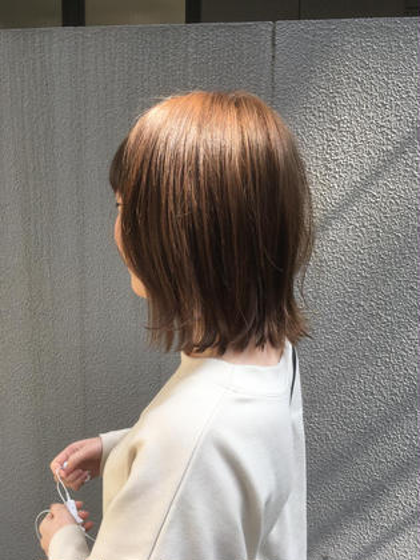 透明感カラー+カット+TOKIOトリートメント