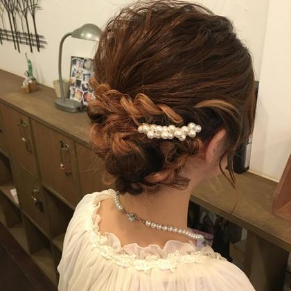 結婚式、二次会お呼ばれヘアセット