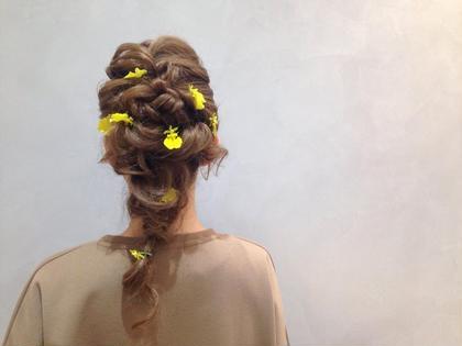 ヘアアレンジ hairarrange ❤︎❤︎❤︎