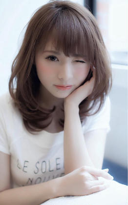 ⭐️絶対お得❣️生れ変る理想的髪色⭐️イルミナカラー+カット+補修140%TOKIOインカラミTR