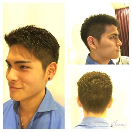 メンズカット短髪、刈り上げ✂️ marju GINZA所属・渋谷杏奈のスタイル
