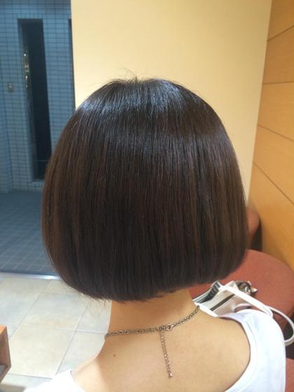 明るくなっていた髪をトーンダウン! 鈴木純のスタイル